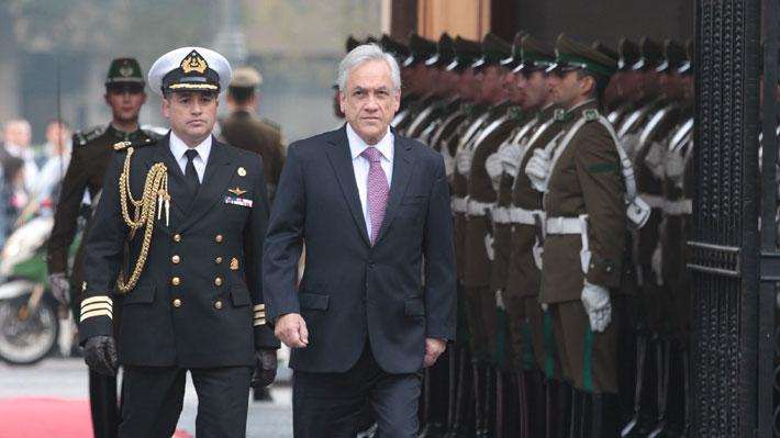 """Piñera justifica decreto de FF.AA. y dice que """"la producción de droga"""" en Perú y Bolivia """"ha alcanzado niveles récord"""""""