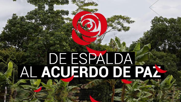 De espalda al acuerdo de paz: ¿Quiénes son los líderes de las FARC que han desertado al histórico proceso?