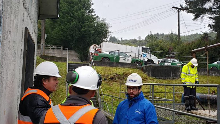Suspenden suministro de agua potable en Osorno por eventual presencia de combustible en sistema de producción de planta