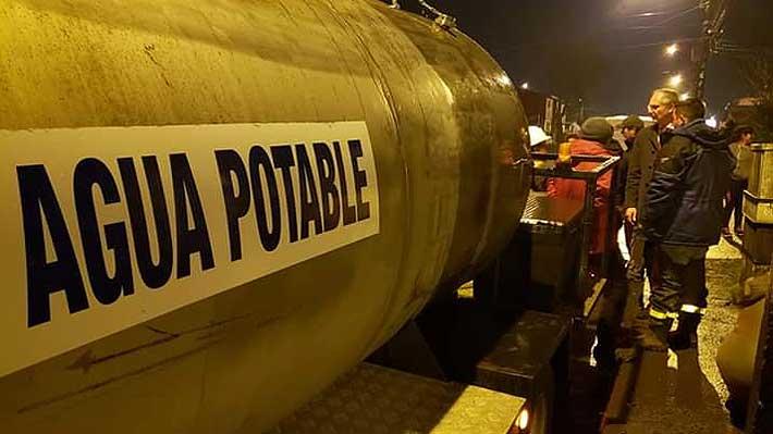 Corte de agua en Osorno: Compañía proveerá de abastecimiento durante dos horas esta mañana