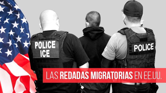 Redadas migratorias podrían partir el fin de semana en EE.UU.: Cómo opera la agencia encargada de realizarlas