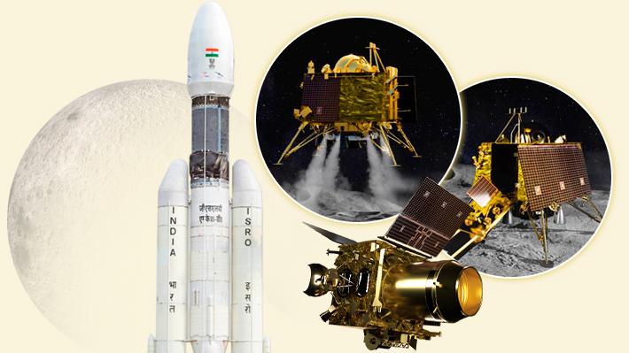 Chandrayaan-2 en cuenta regresiva: Cómo es la misión de la India que busca posarse en la Luna