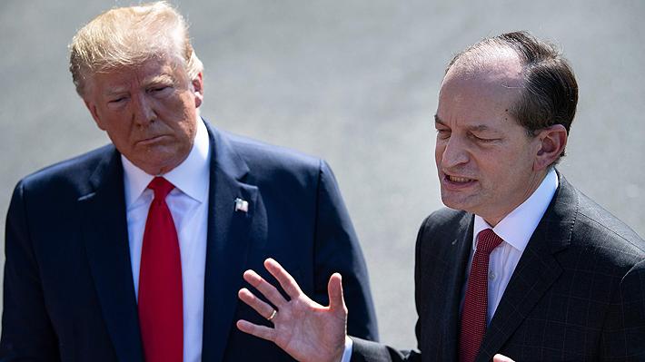 Secretario de Trabajo de EE.UU. renuncia tras críticas por su gestión como fiscal en caso de explotación sexual infantil