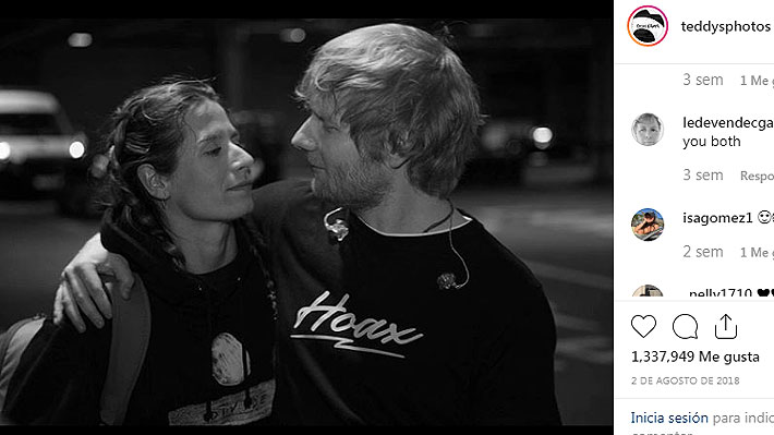 Ed Sheeran confirma que está casado con Cherry Seaborn, su novia desde la escuela