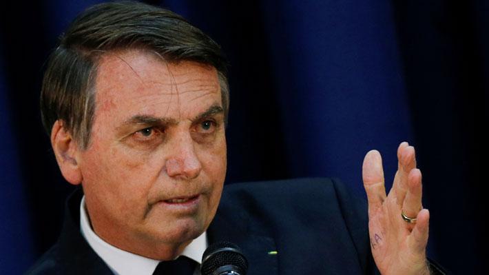 """Bolsonaro e idea de nombrar a su hijo embajador en EE.UU.: """"No es nepotismo"""""""