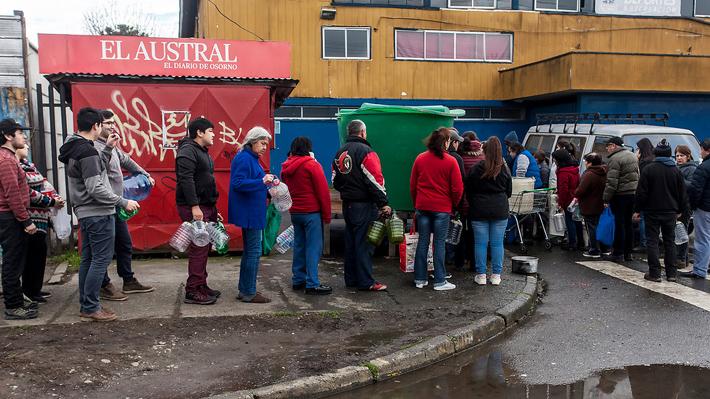 Subsecretaria de Salud viaja a Osorno y Seremi solicita declarar emergencia sanitaria por extenso corte de agua