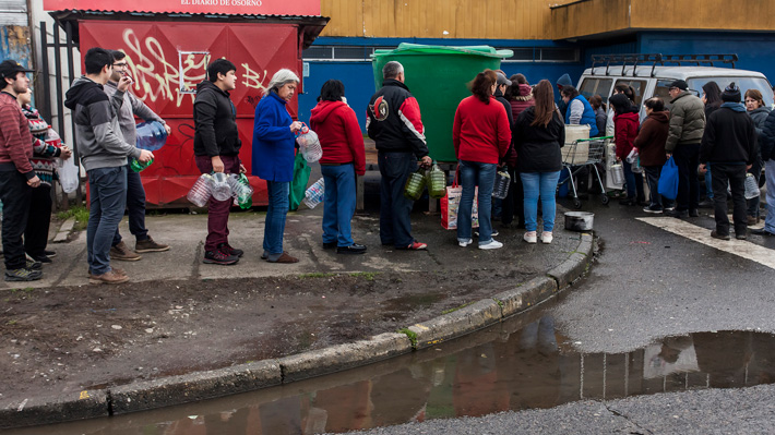 Essal arriesga multas de hasta $600 millones por el corte de agua en Osorno