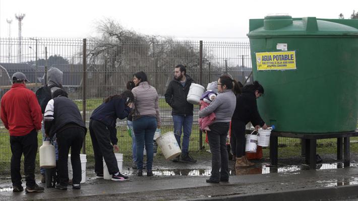 Revisa los puntos de abastecimiento de agua potable en Osorno debido a corte de suministro