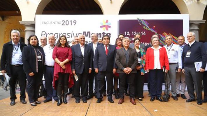 Personalidades de oposición participan en encuentro de líderes progresistas de América Latina en México