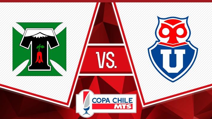 Así fue la victoria de la U sobre Temuco en los octavos de ida de la Copa Chile