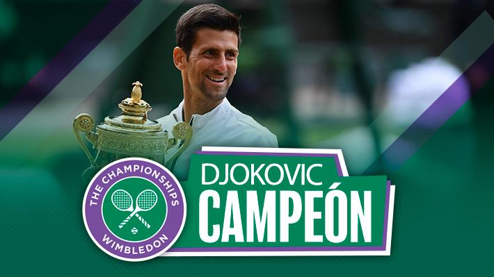 Solamente gracias: Djokovic es campeón de Wimbledon tras vencer a Federer en una de las mejores finales en la historia del tenis