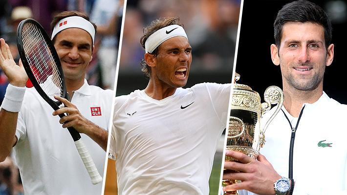 Roger Federer sigue en lo más alto: Los 10 más ganadores de Wimbledon y de torneos Grand Slam