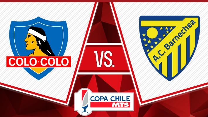 Así fue la victoria de Colo Colo sobre Barnechea por la ida de los octavos de Copa Chile
