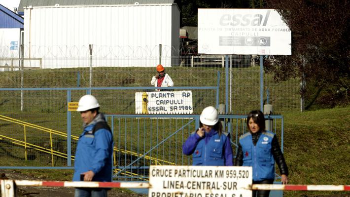 """Gerente de Operaciones de Essal confirma que producción de agua potable se reiniciará """"al final del día martes"""""""