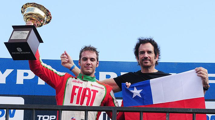 El chileno Benjamín Hites logra el primer podio en Argentina al terminar 3° en la final 1 de la sexta fecha del Top Race Series