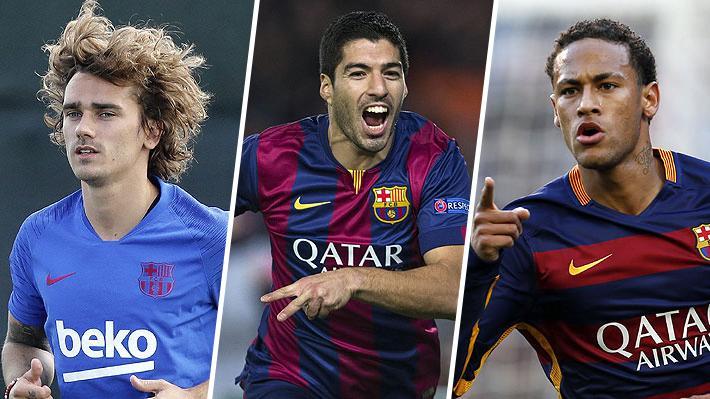 Griezmann es el tercero en la lista y supera a Suárez y Neymar: Revisa los 10 fichajes más caros en la historia del Barça