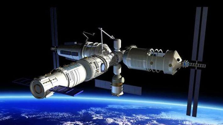 Image result for laboratorio espacial Tiangong-2