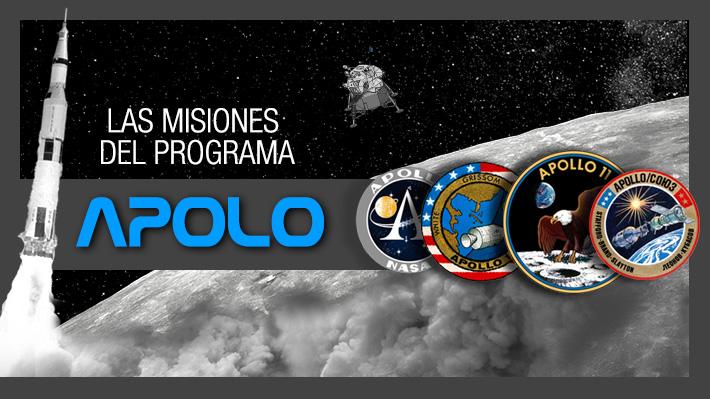 La Luna, el objetivo final: Conoce cuáles fueron las misiones del programa Apolo y qué astronautas participaron