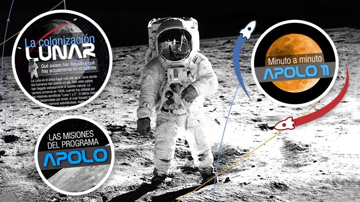 Cobertura especial: A 50 años de la llegada a la Luna