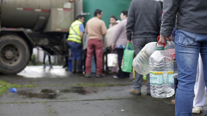 Contraloría toma razón de Alerta Sanitaria para Osorno por extenso corte de suministro de agua potable