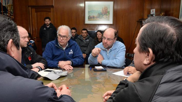 """Ministro de OO.PP. llega a Osorno: """"La principal preocupación es resolver esto en cantidad de agua, pero también en calidad"""""""