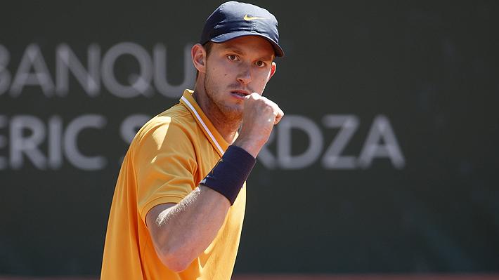 No exento de dificultades, Jarry vence al suizo Laaksonen y avanza a octavos en el ATP de Bastad