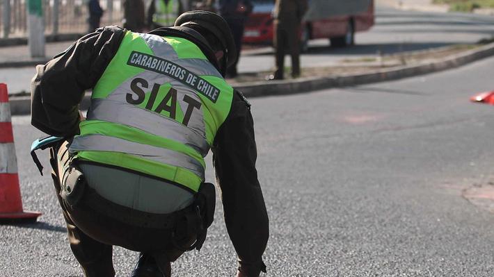 Accidente en Rancagua: Carabineros indaga si víctimas fatales usaban cinturón de seguridad