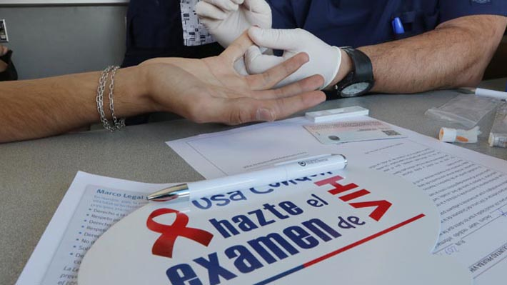 Chile lidera como el país con mayor tasa de nuevos contagiados por VIH en Latinoamérica