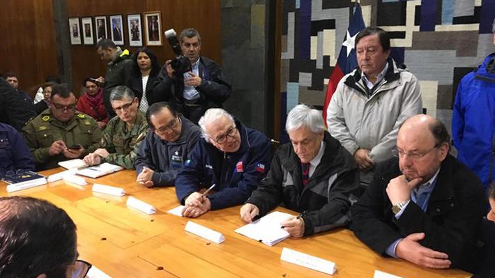 Osorno: Piñera asegura calidad del agua y anuncia revisión de normas de seguridad en todas las plantas del país