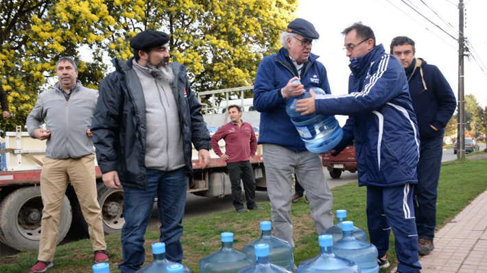 """La autocrítica del intendente de Los Lagos por corte de agua en Osorno: """"Creímos que en 24 horas se resolvía el problema"""""""