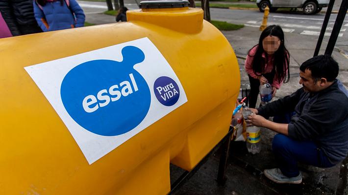 """Essal informa """"corte de emergencia"""" de agua en centro de Osorno por mayor demanda"""