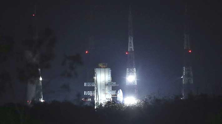 India reprograma para el lunes el lanzamiento de su misión lunar