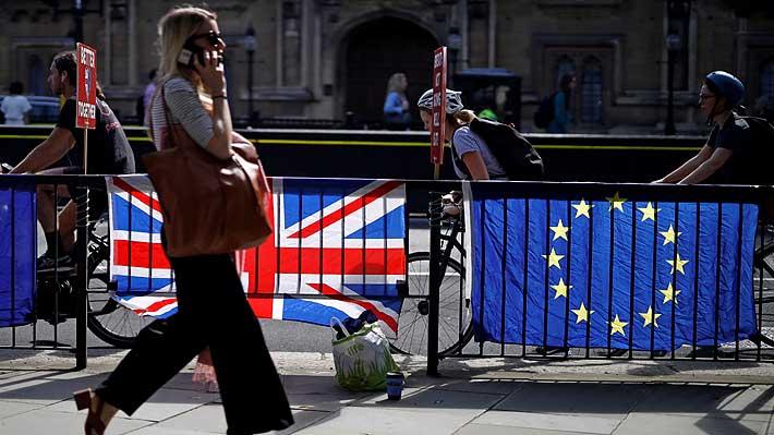 Oficina presupuestaria del Reino Unido prevé una recesión con un Brexit sin pacto