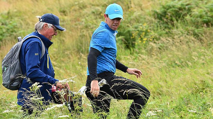 """""""Su primer golpe fue desastroso"""": Cómo fue el cuádruple bogey con que arrancó de uno de los favoritos en el The Open de golf"""