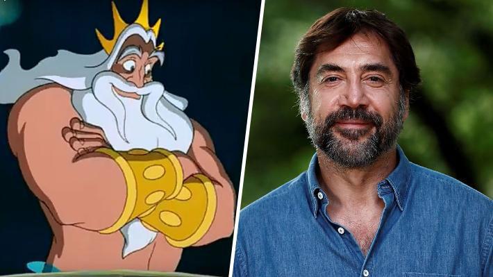 """Javier Bardem negociaría para convertirse en el rey Tritón en el remake de """"La Sirenita"""""""