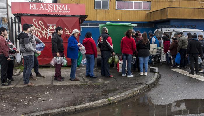 """Gobierno dice que situación en Osorno es """"indignante"""" y afirma que Essal entrega """"información equivocada"""""""