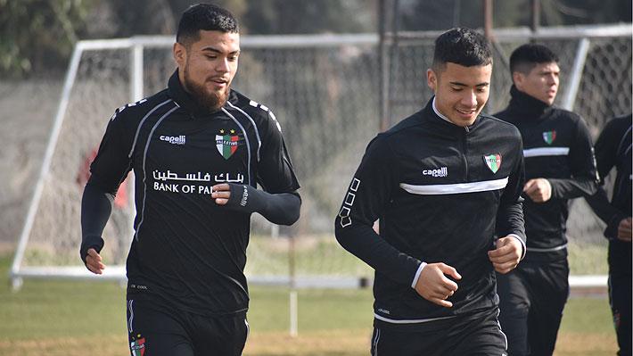 Paulo Díaz entrena con Palestino a la espera de que se cierre su posible fichaje por River Plate