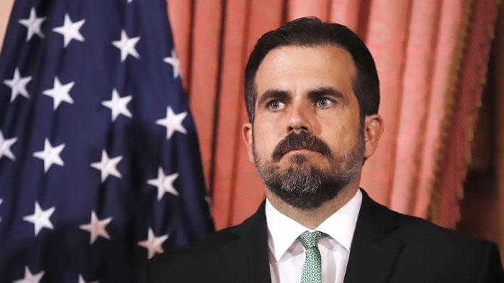 """Ricardo Roselló, el gobernador de Puerto Rico que quedó contra las cuerdas tras el destape del """"Telegramgate"""""""