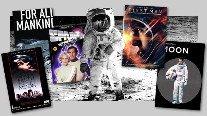 La Luna en la pantalla: El gran abanico de películas, series y documentales sobre la exploración humana