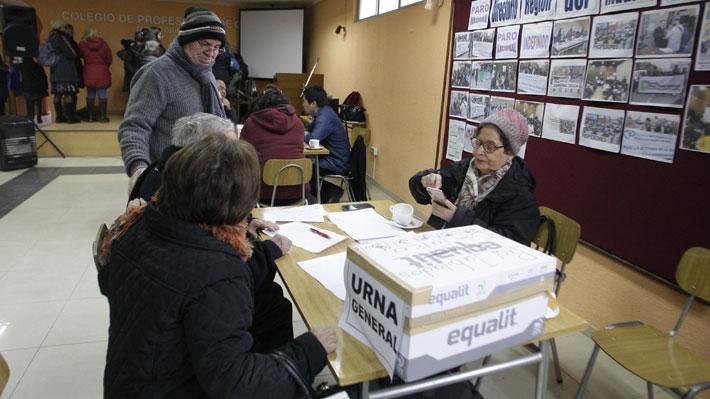 Los resguardos que tomará el Colegio de Profesores en nueva votación que definirá el futuro del paro
