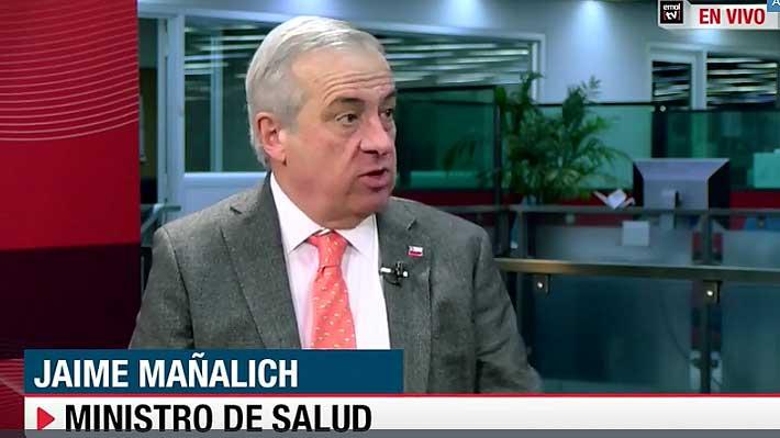 """Ministro de Salud: Contagio de hepatitis A """"es un riesgo que puede presentarse en las próximas semanas"""" en Osorno"""