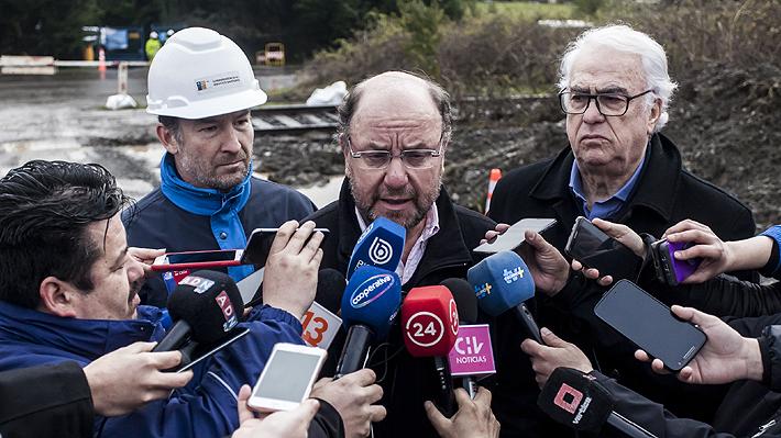 """Moreno: """"El domingo a las 08:00 de la mañana"""" se restablecerá el servicio de agua en forma normal en Osorno"""