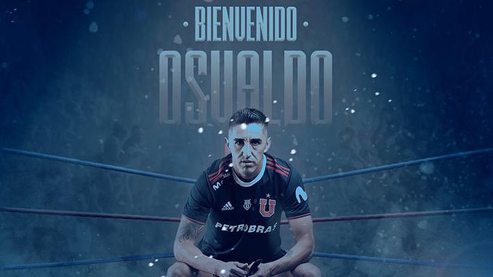 """La U confirma el regreso de Osvaldo González al club: """"La saga continúa, Rocky III"""""""