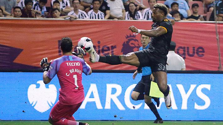 Bravo tapa un penal en definición de torneo amistoso que terminó con el City perdiendo la serie y la copa