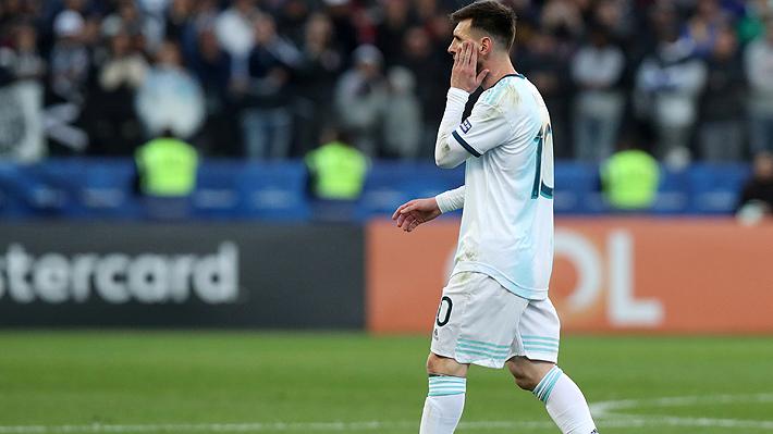 "Aseguran que Messi ofreció disculpas por sus dichos a través de una carta a la Conmebol: ""Fue por estrés"""