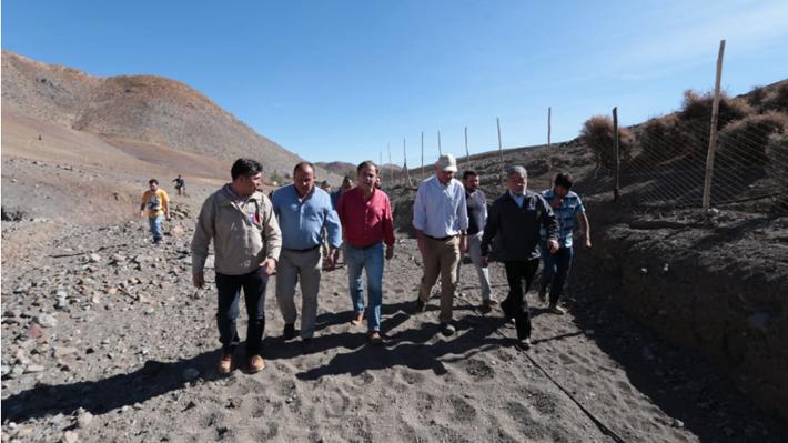 """Ministro Walker por sequía en Coquimbo: """"No vamos a dejar a nadie solo, vamos a atender las necesidades de la agricultura"""""""