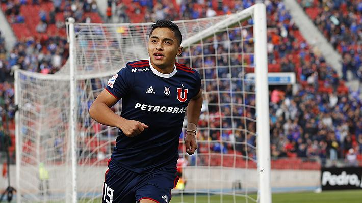 La U sufrió ante Temuco, pero terminó ganando con un doblete de Nicolás Guerra y clasificó a cuartos de la Copa Chile