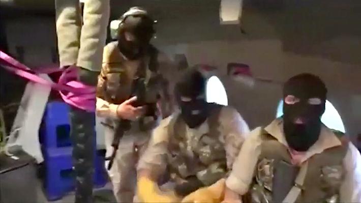 Video: Guardia Revolucionaria de Irán publica registro que muestra el momento en que incautan buque británico