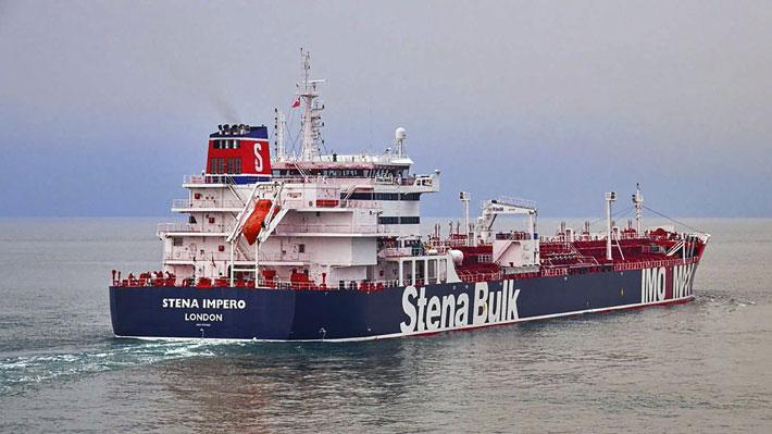 """Irán asegura que la tripulación del petrolero británico se encuentra """"a salvo"""" y con """"buena salud"""""""