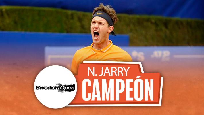 La tercera fue la vencida: Jarry consigue en Bastad su primer título ATP y alcanzará su mejor ranking histórico